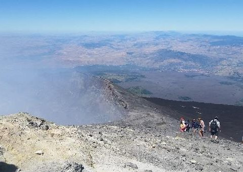 Etna summit ctraters